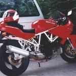 Ducati 750SS in Wedel