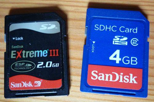 Sandisk SDHC Class2 Class6