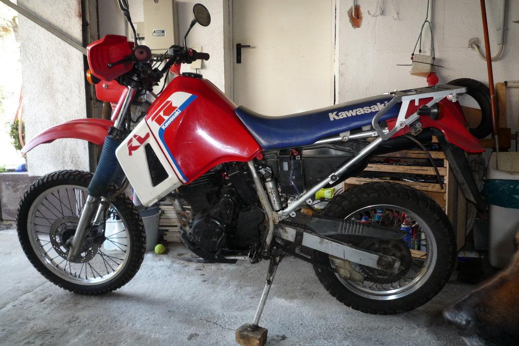 Kawasaki KLR 650a