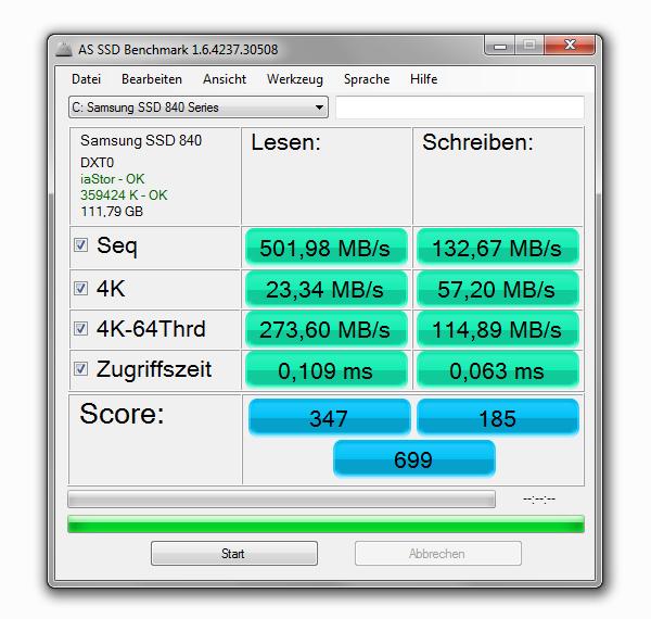 Samsung SSD 840 120 GB