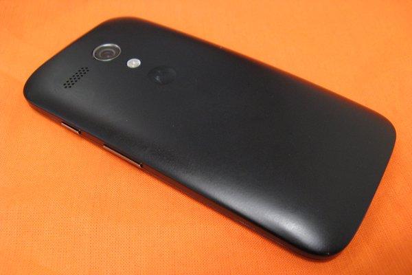 Motorola Moto G back