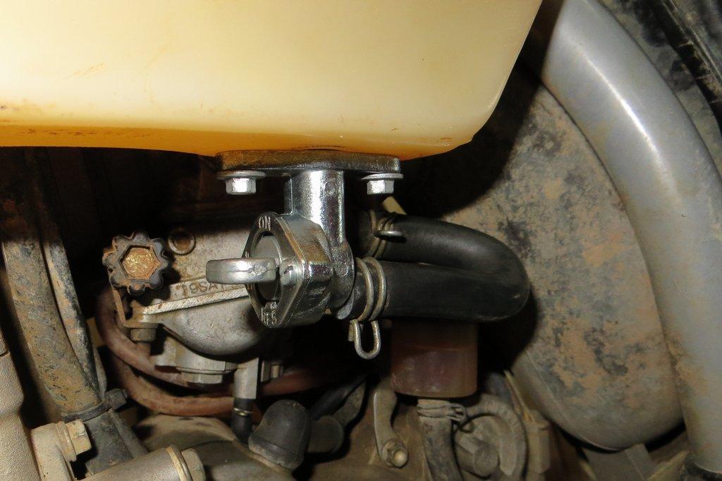 KTM 400 EXC Benzinhahn
