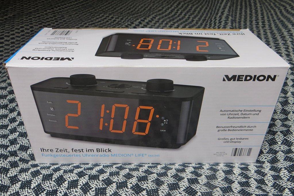 Uhrenradio Medion E66345